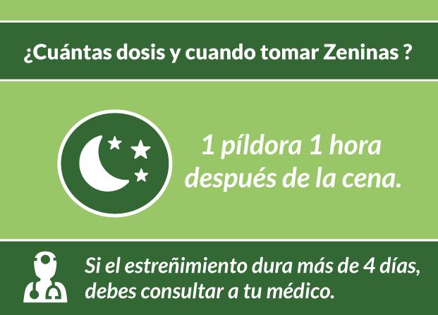 Cómo tomar pastillas para el estreñimiento Zeninas - Zeninas