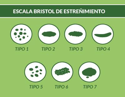 Saber si estás estreñido con la escala de Bristol